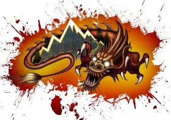 JKDColorado Dragon T-shirt Design