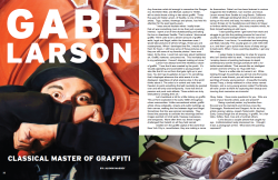 Gabe Larson article